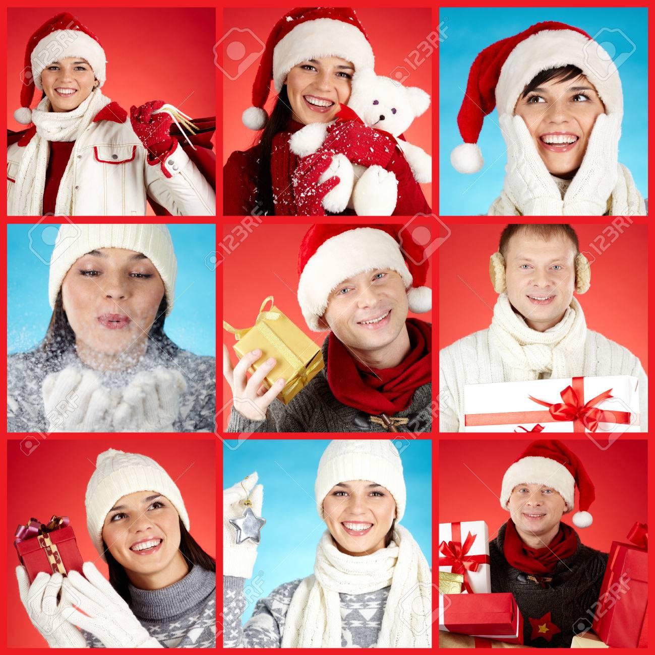 Gente Feliz En Navidad.Coleccion De Fotos Con La Gente Feliz Navidad