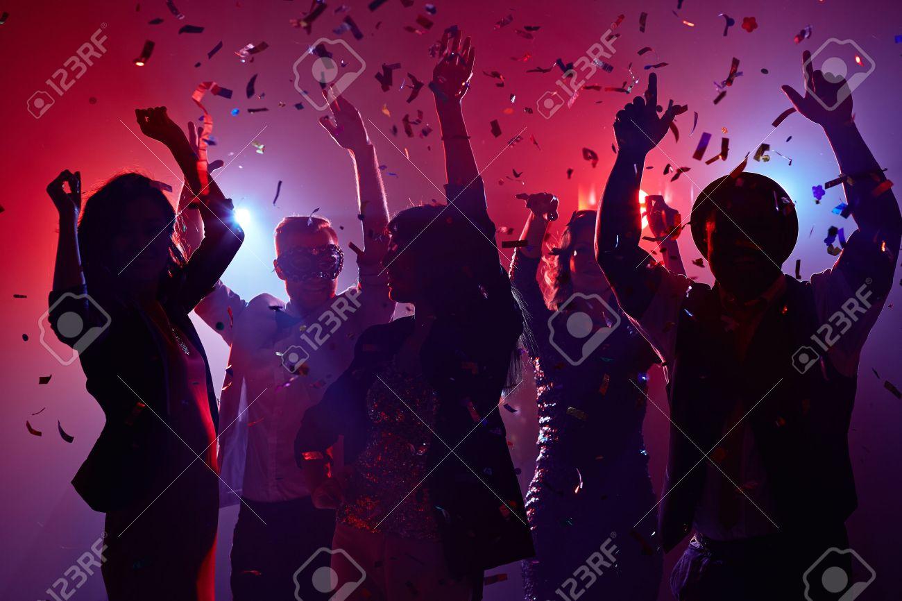 Party people having fun in nightclub Stock Photo - 50673277