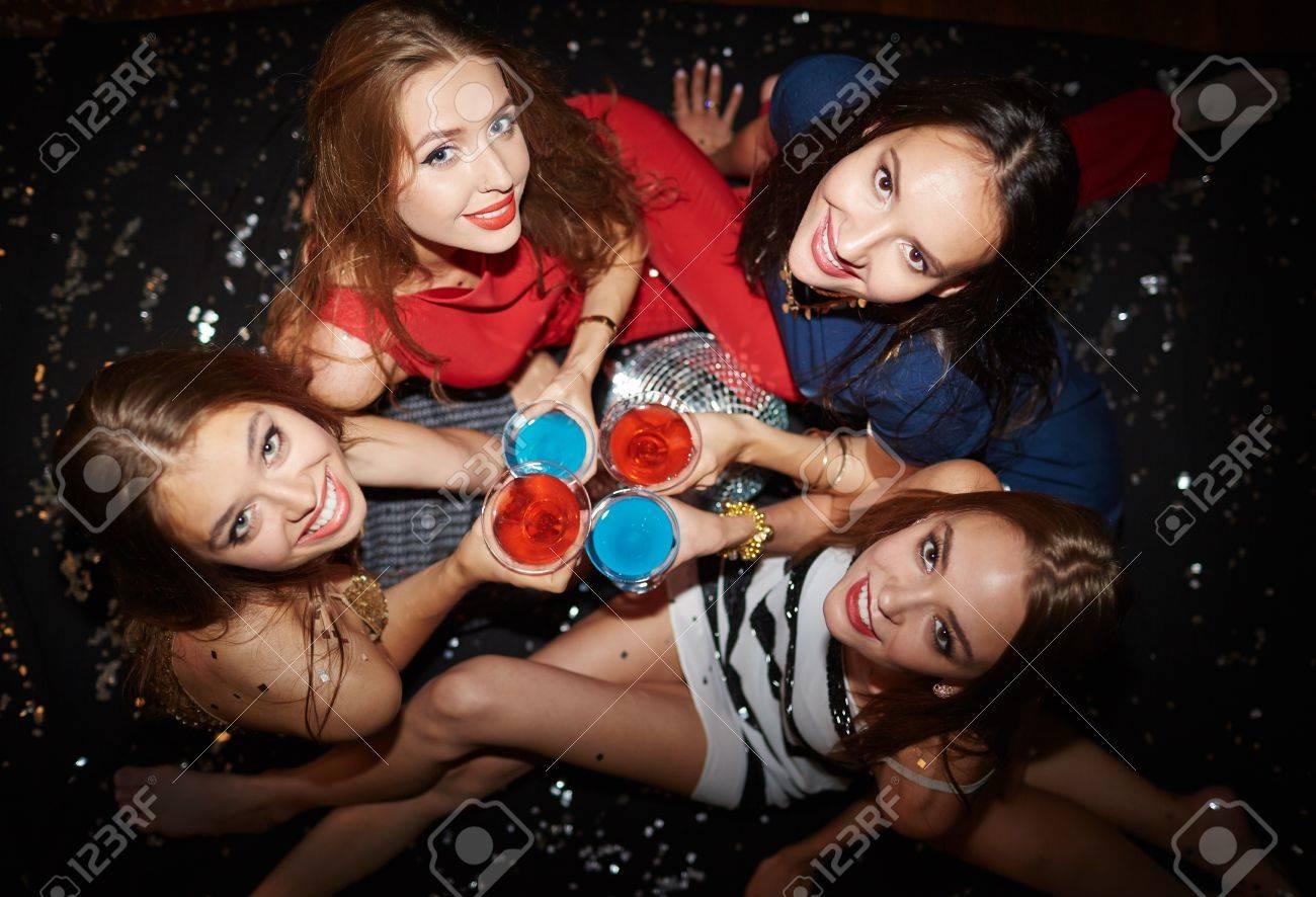 La fête de caméra filles