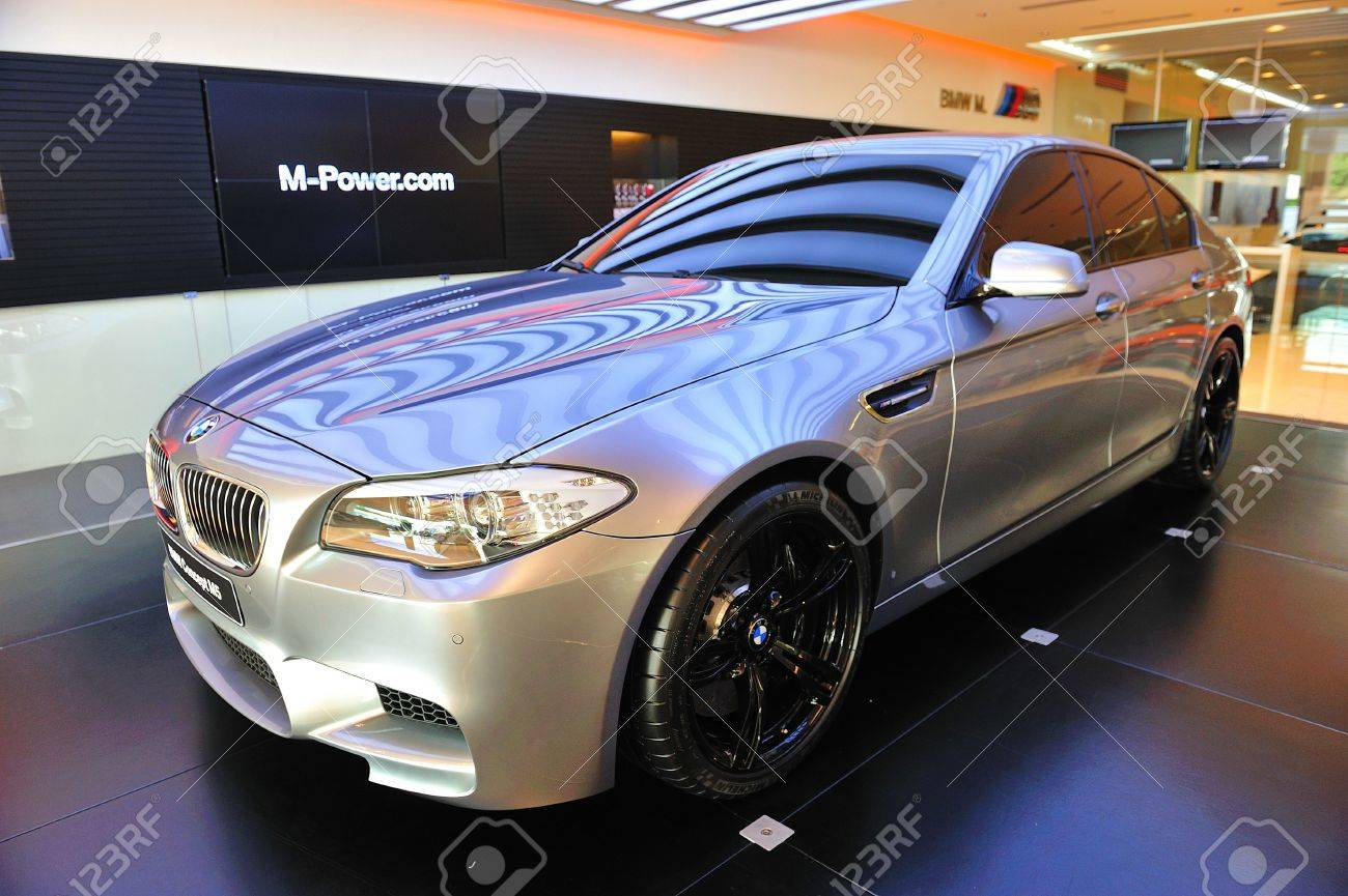 Unveiling The New BMW M5 Concept At Munich Automobiles BMW Service ...