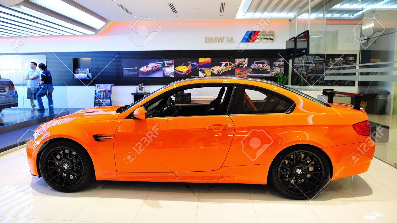 Static Display Of BMW M3 GTS Sports Coupe At Munich Automobiles ...