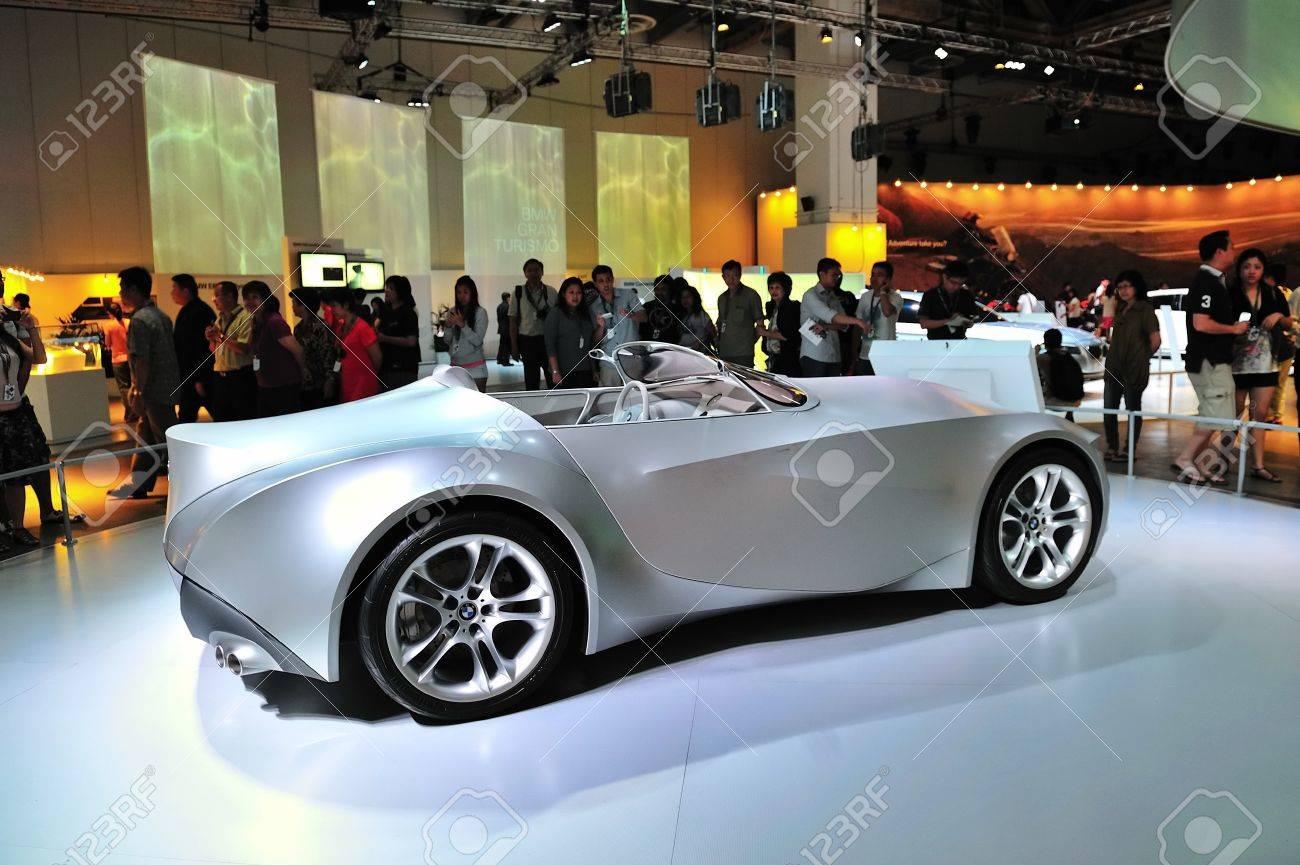Bmw Gina Light Visionary Concept Car At Bmw World Singapore 2010