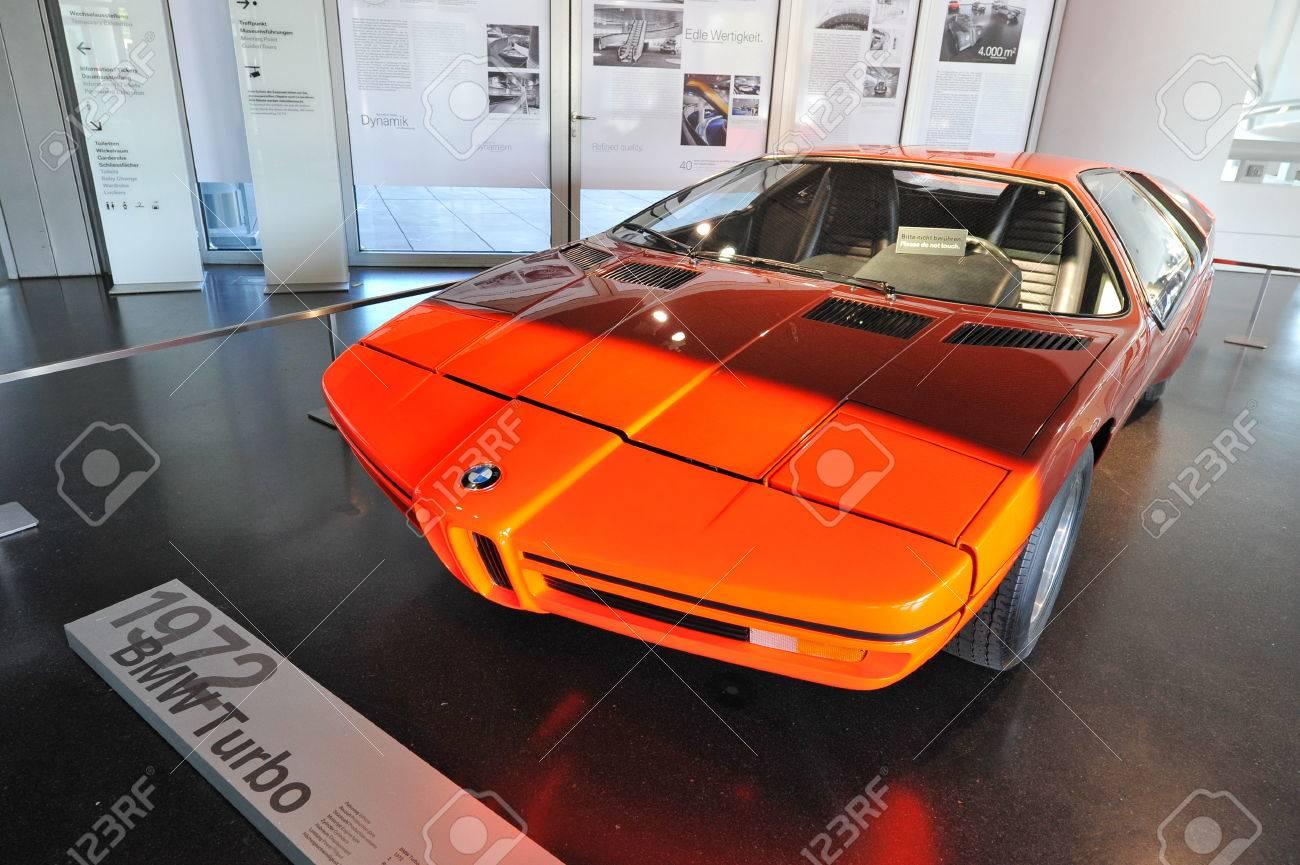 MUNICH - JUNE 08: BMW E25 Turbo Concept Car Built As A Celebration ...
