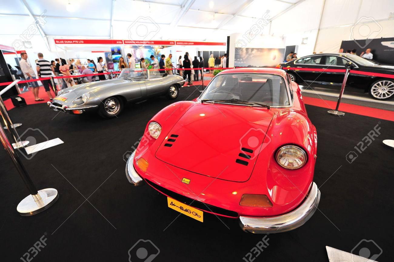 Singapore April Ferrari Dino Gt And Jaguar E Type