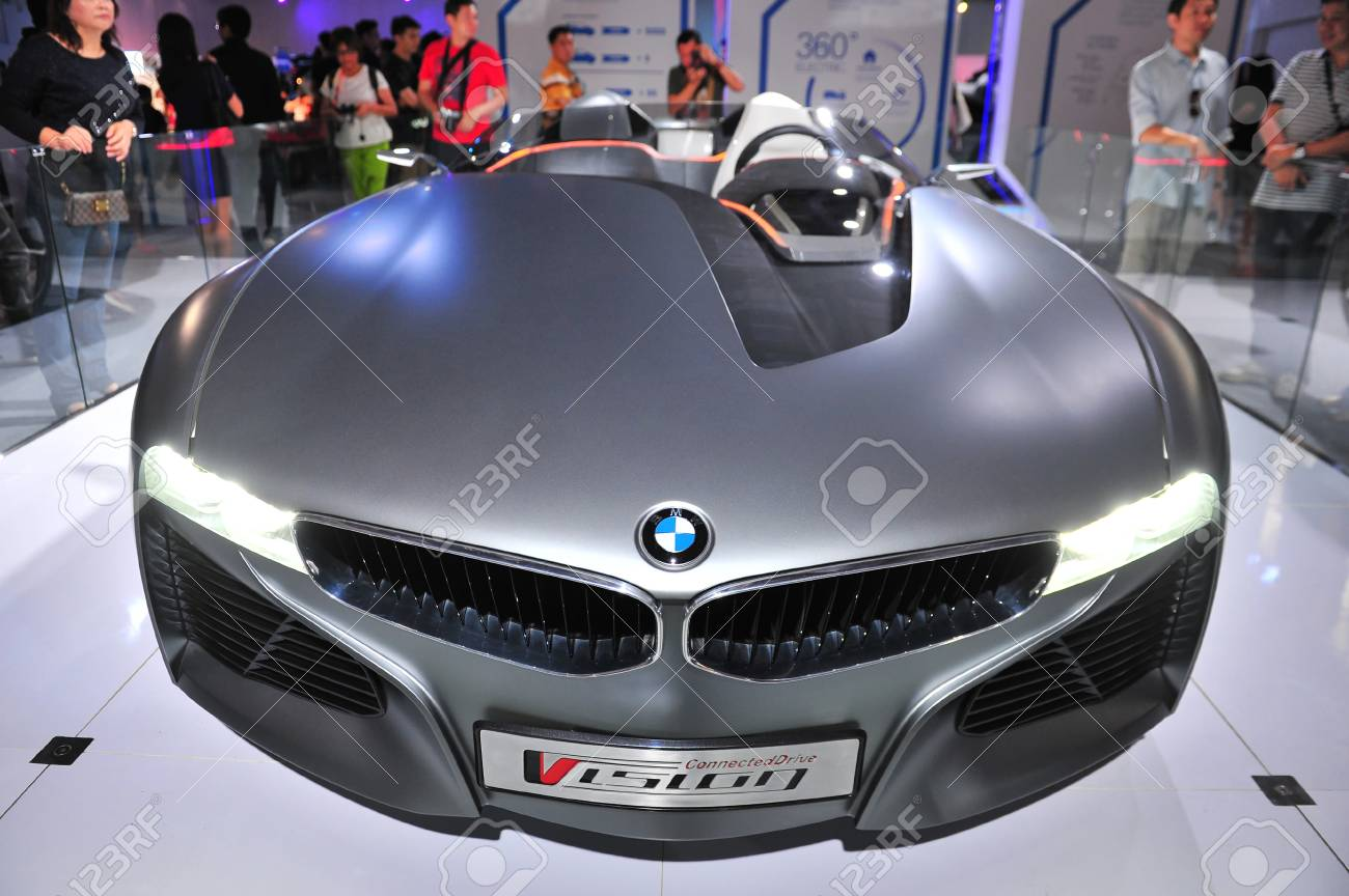 Singapore August 2 Bmw Vision Connecteddrive Two Seater Sports