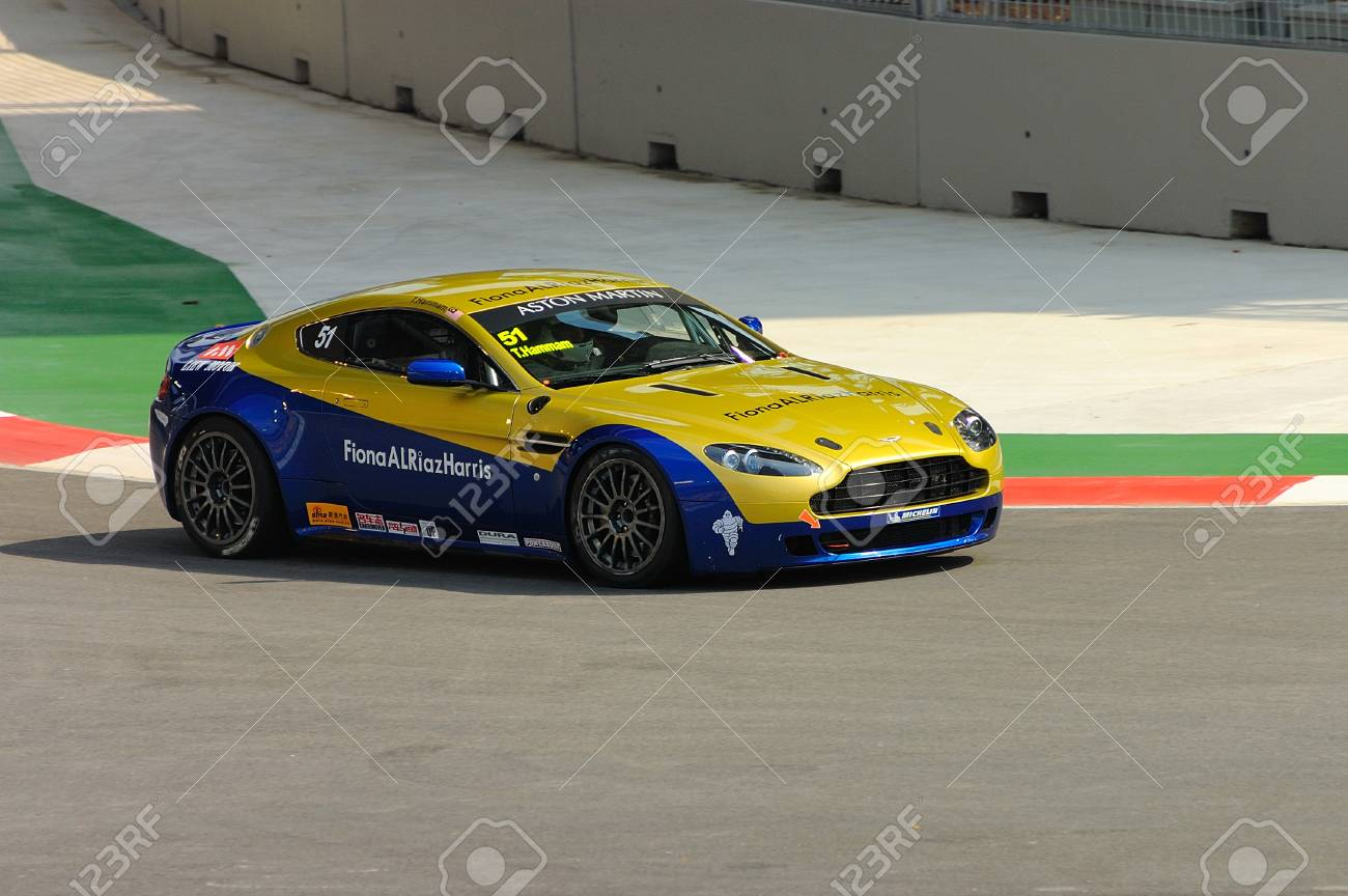 Singapore September 26 Aston Martin Asia Cup Singapore Circuit Stock Photo Picture And Royalty Free Image Image 35674537