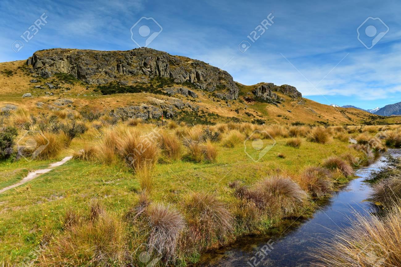 haut de gamme authentique 60% de réduction nouvelle arrivée Mount Sunday, lieu de tournage du film Le Seigneur des Anneaux pour la  scène Edoras, à Canterbury, en Nouvelle-Zélande