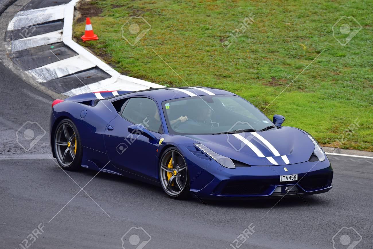 Ferrari 458 Speciale >> Hampton Downs New Zealand April 18 Ferrari 458 Speciale Driving