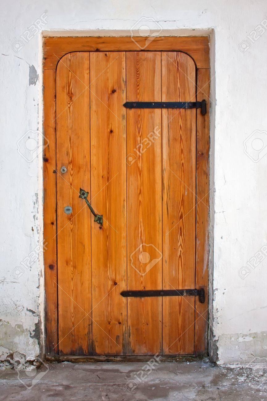 free door image wooden vector vectorstock royalty