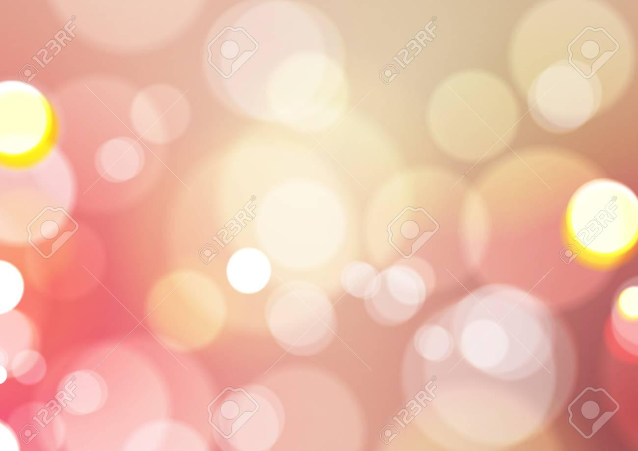 Abstract Bokeh Light Vintage Background, Vector Illustration - 126555647