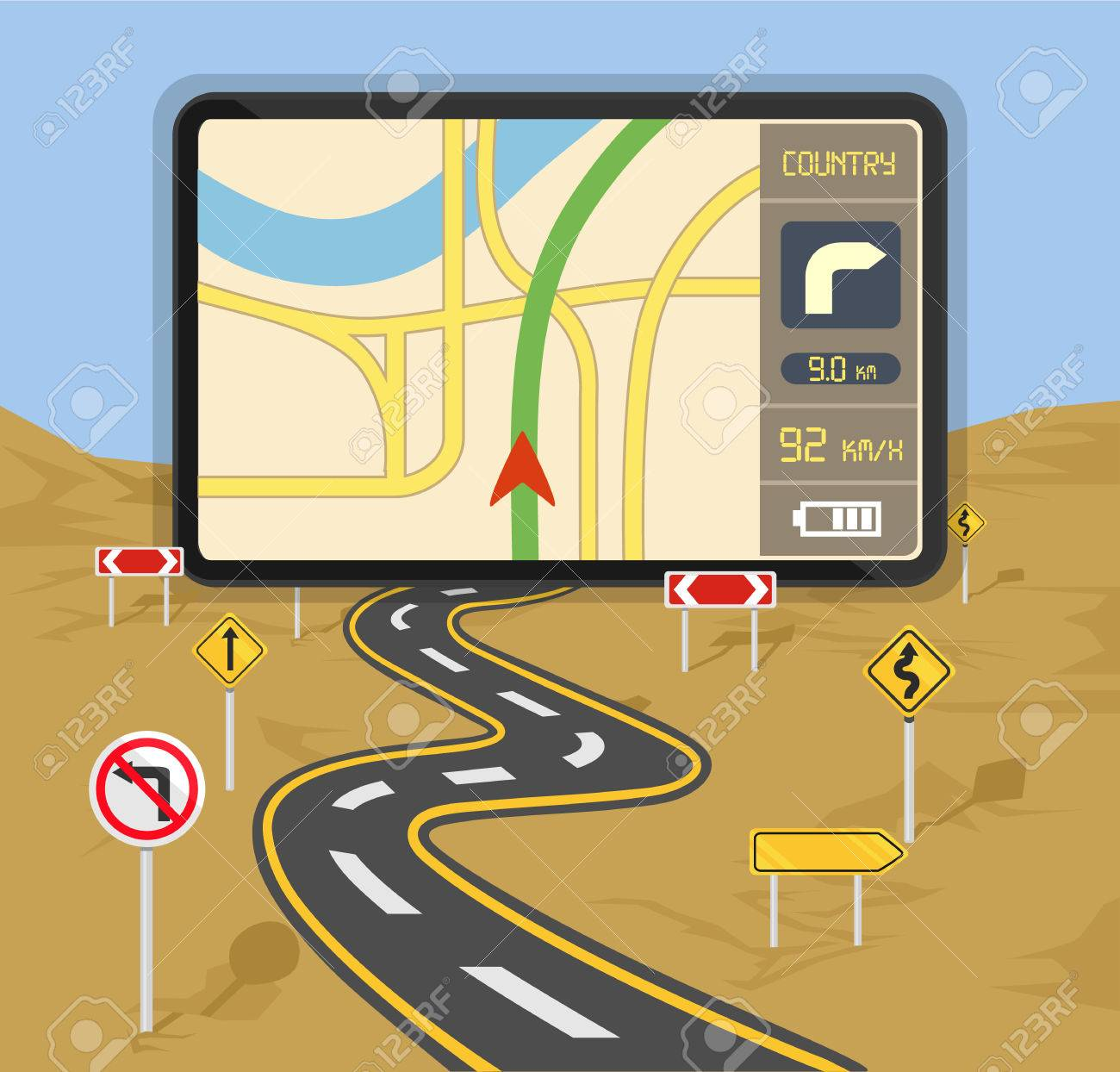Maps Update 590300 Road Map Navigation GPS Navigation Map – Road Navigation Map