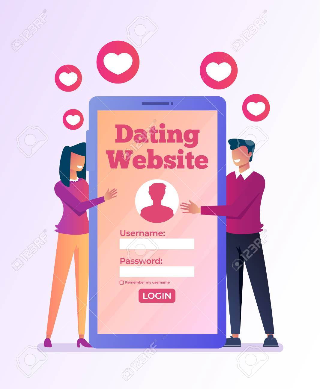 virtuell dating show