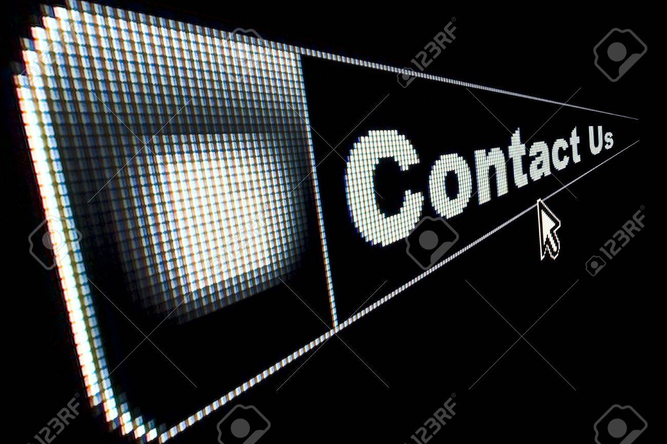 Contact Us concept for an internet web page - 4932876