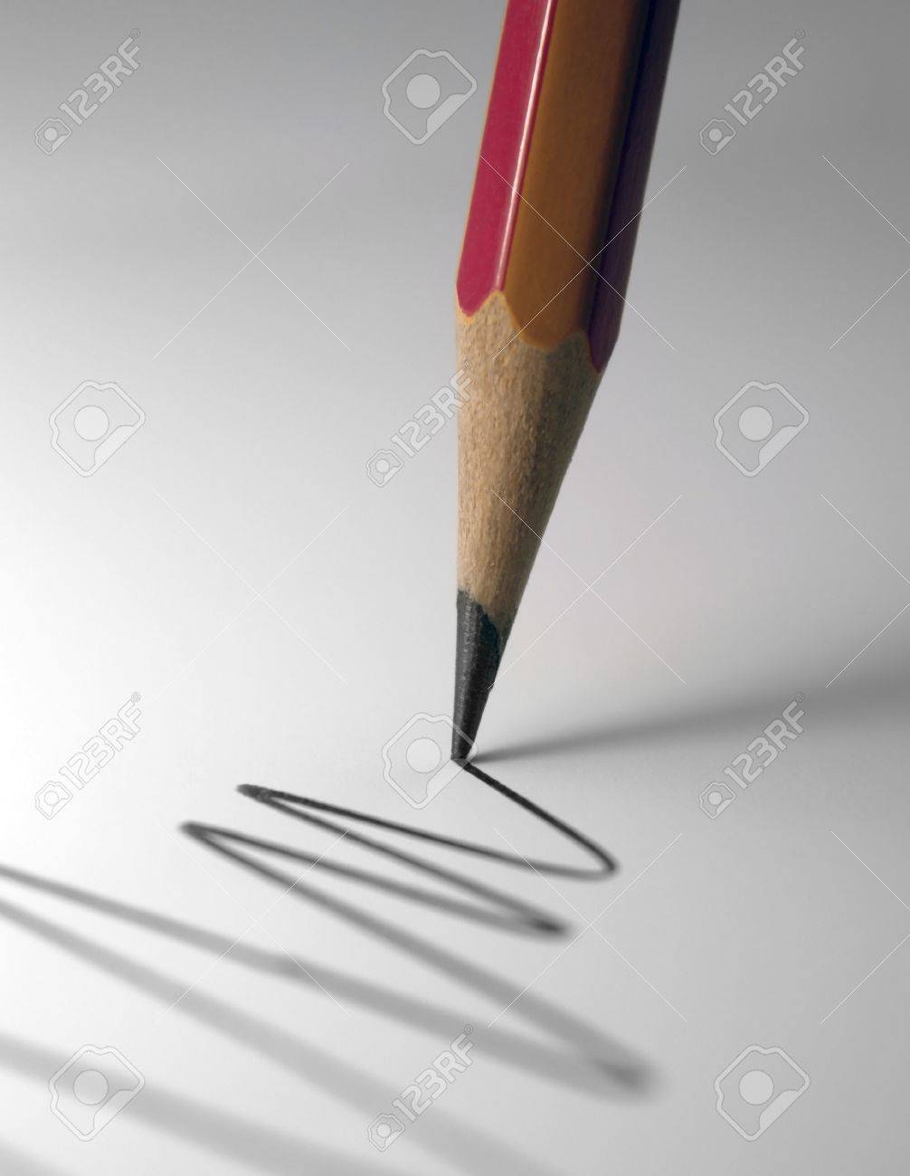 Pencil And Paper Stock Photos Images. Royalty Free Pencil And ...