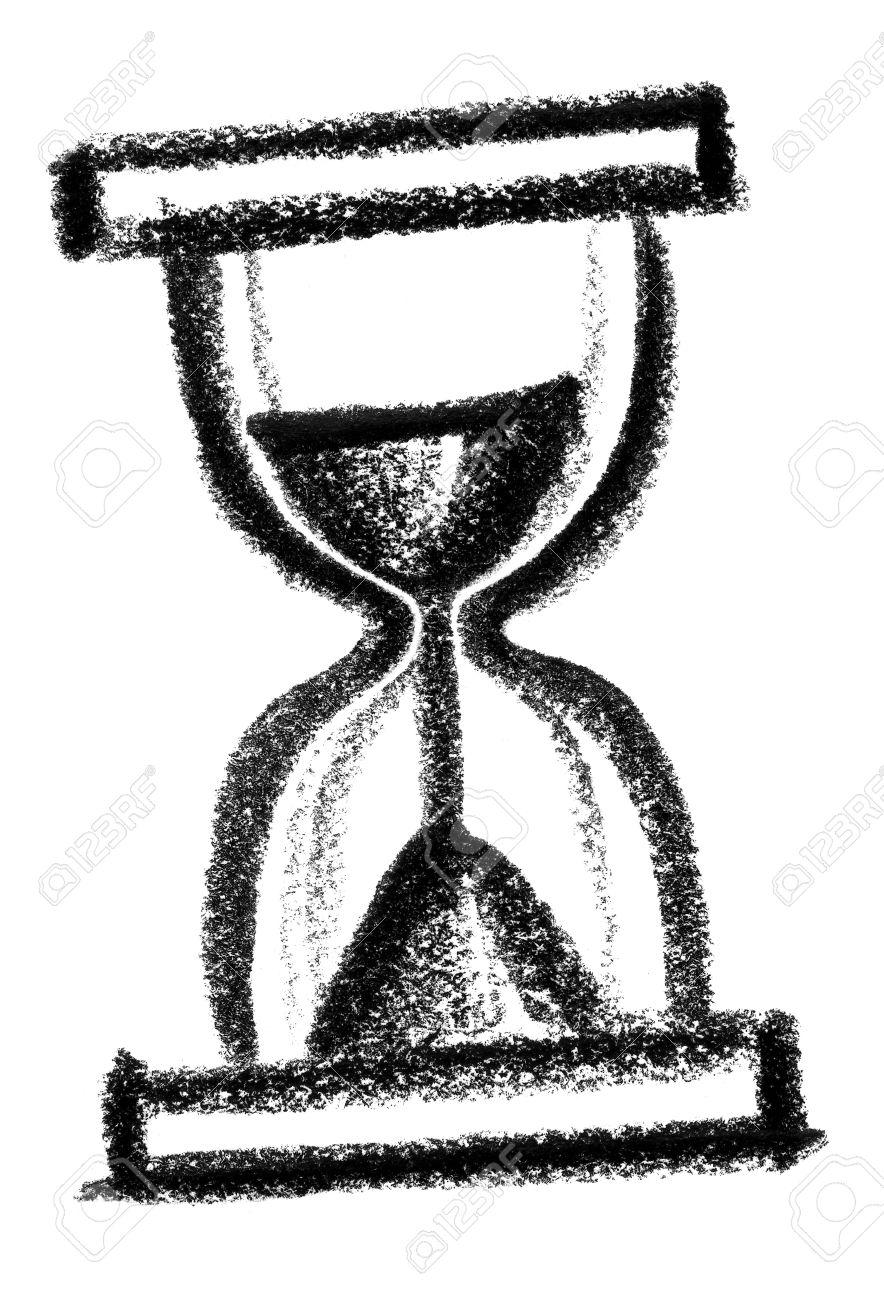 Resultado de imagen de reloj de arena dibujo