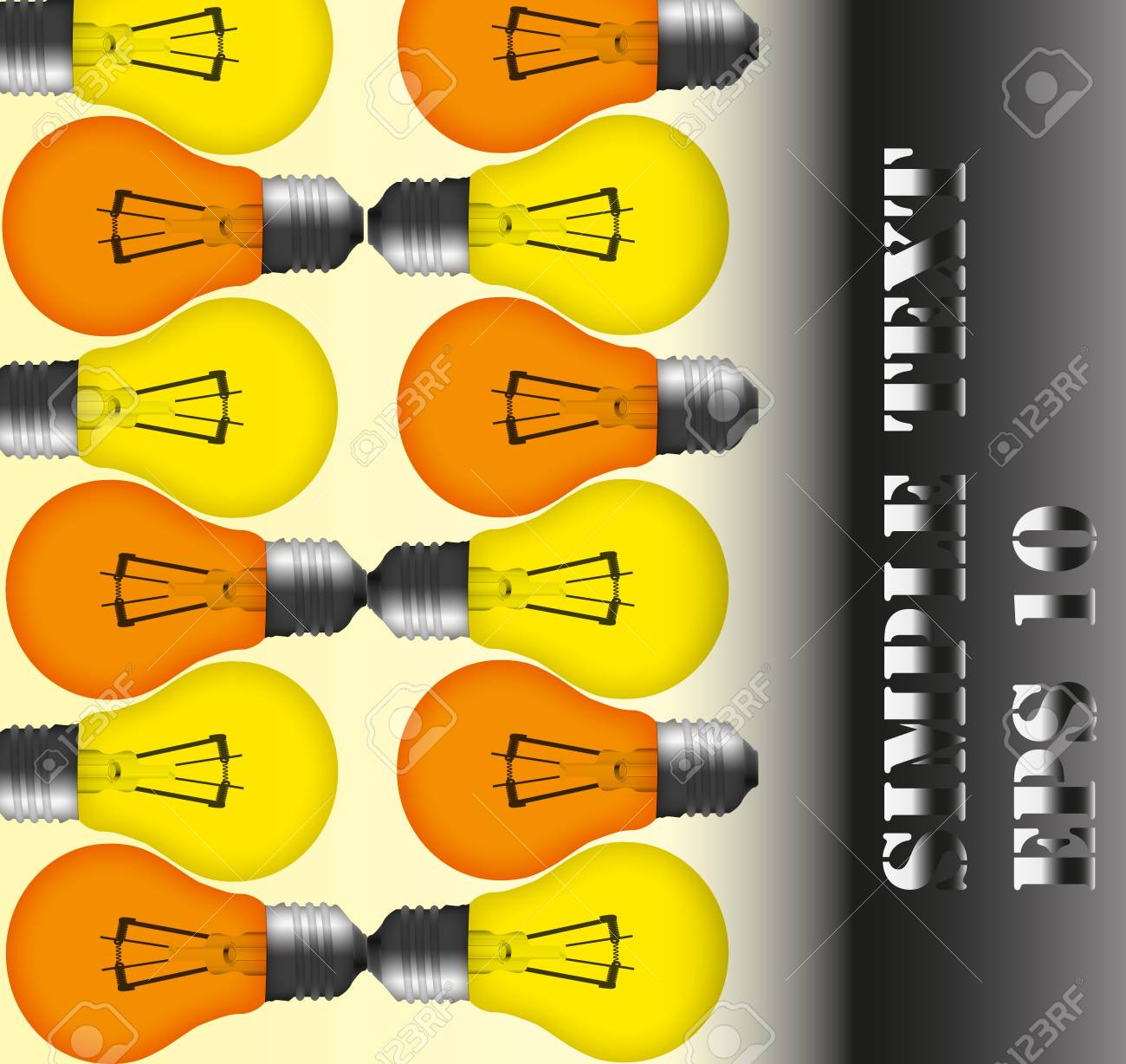 The abstract lamp background wallpaper. Stock Photo - 11570643
