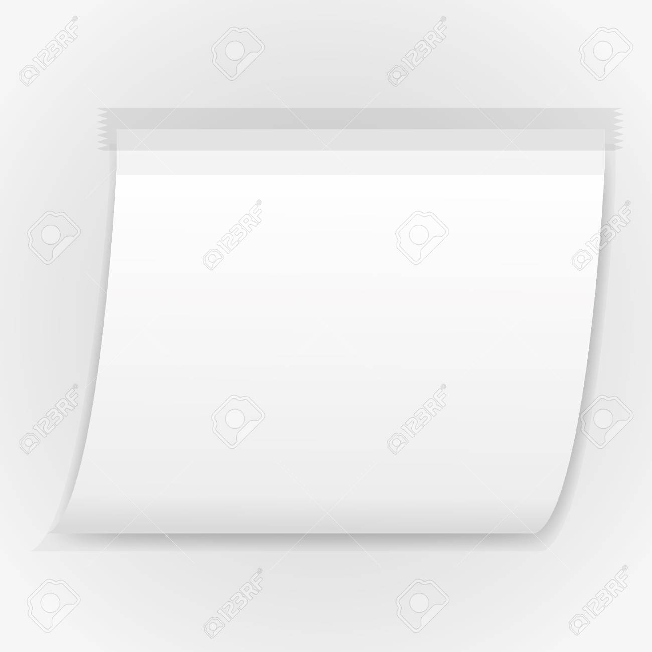 sticky pad on abstract backgrounds. Stock Vector - 11804225