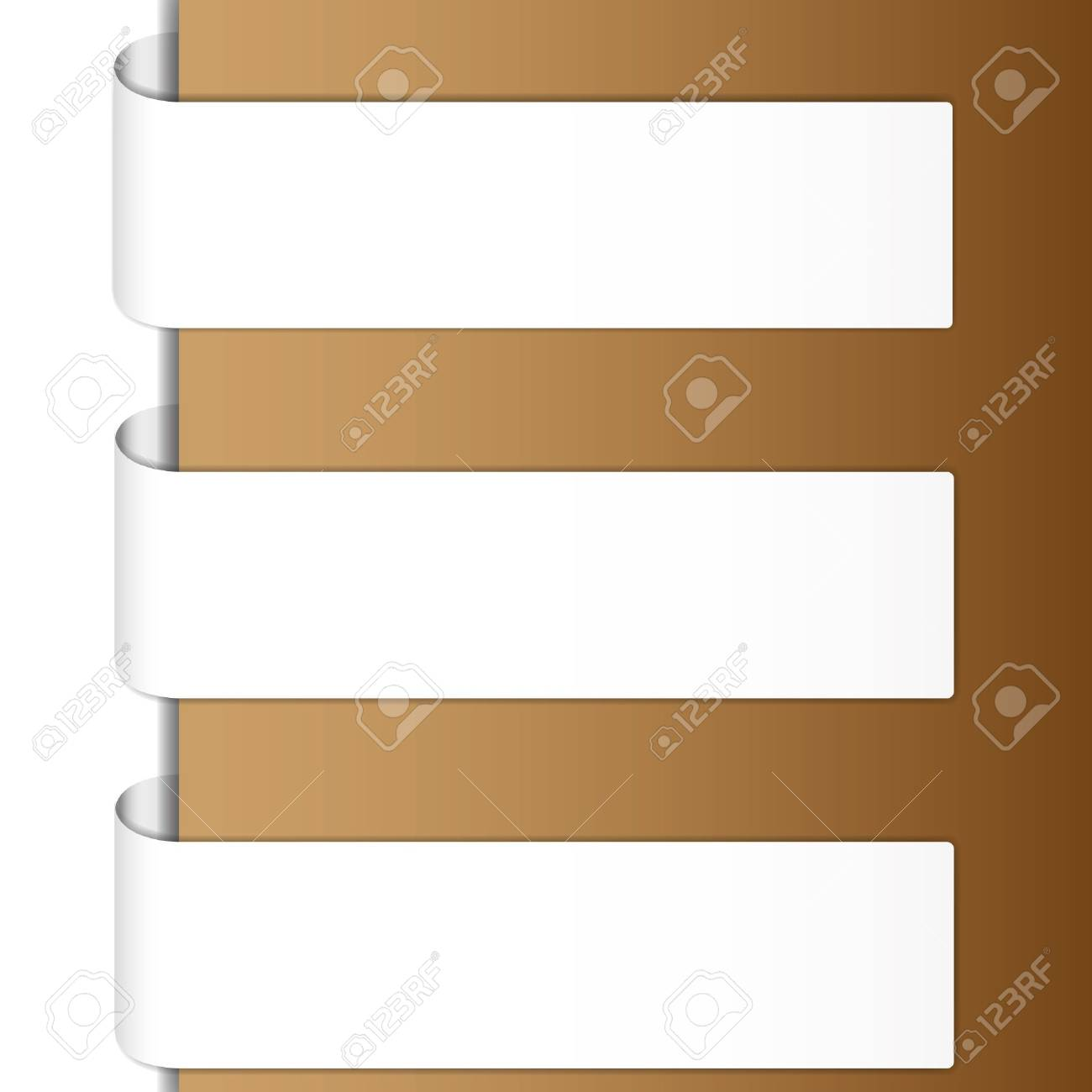Classic brochure brown tone. Stock Vector - 11804230