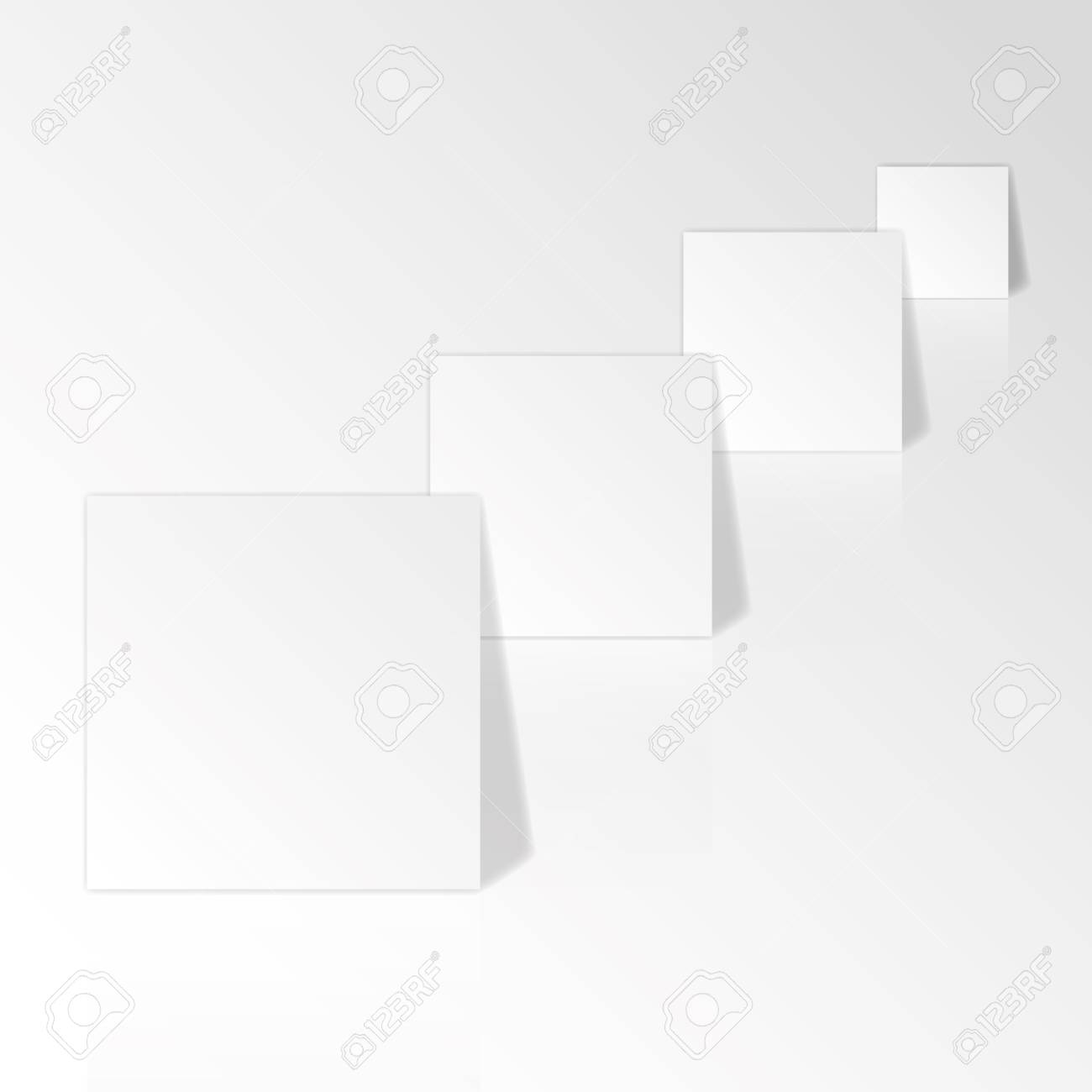 Blank paper patterns for work. Stock Vector - 11804286