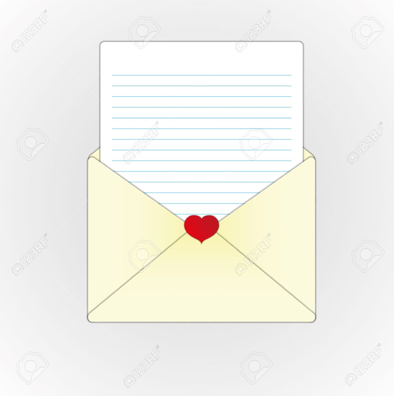Paper for *love* letter?
