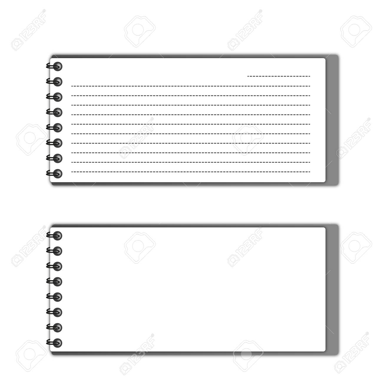 New pattern gray  pocketbook space and lines papers. Stock Photo - 12350075