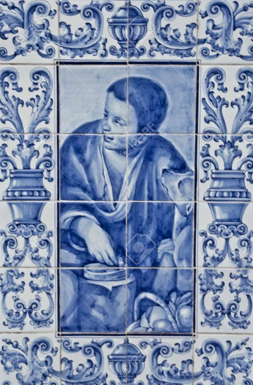 Talavera Ceramic, Ceramic Tile Panel Stock Photo, Picture And ...
