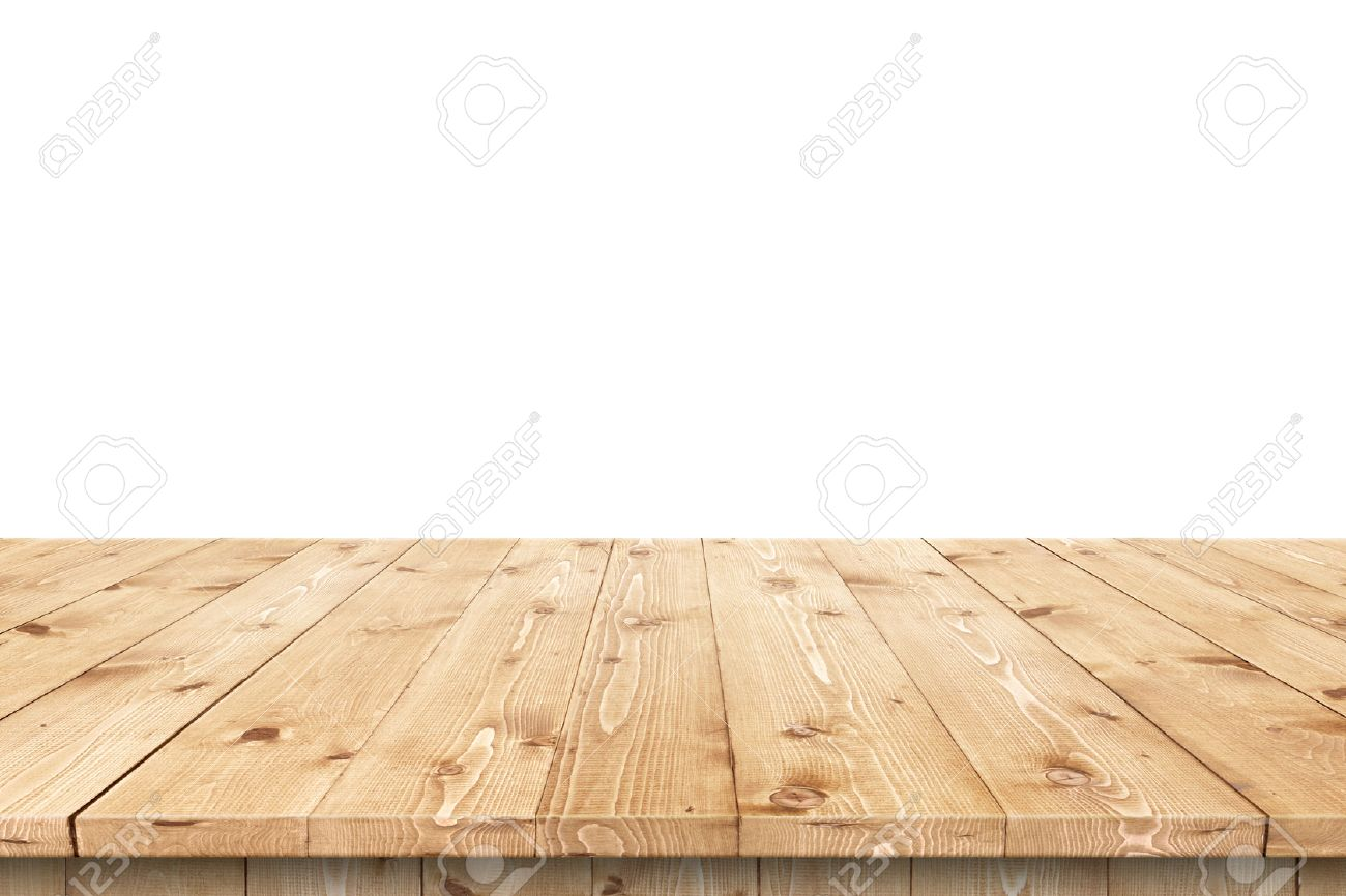 Empty Wooden Table In A Sun Drenched Summer Garden For Product Stock Photo Picture And Royalty Free Image Image 28140407