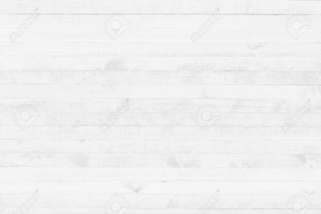White wood texture background top view. Light wooden surface backdrop. - 123813937