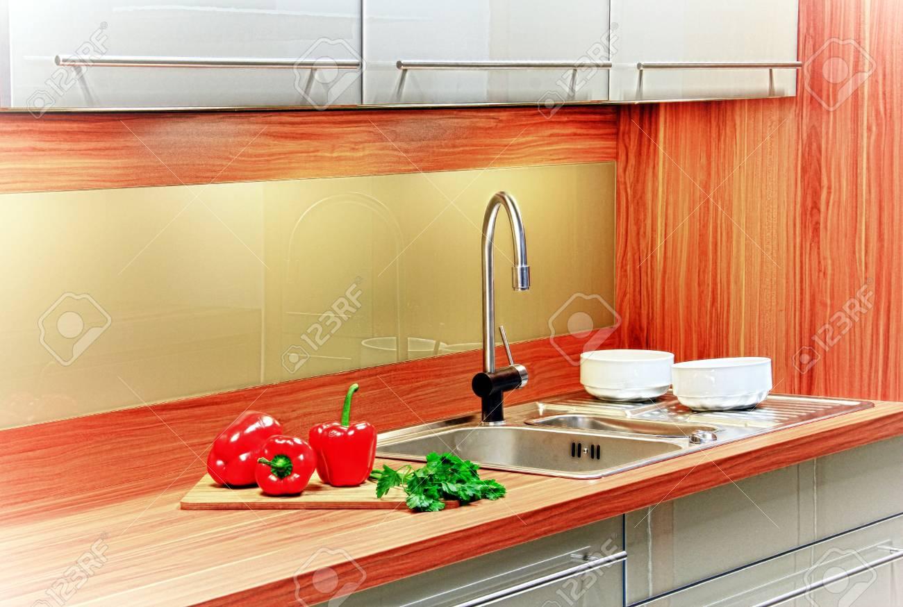 In the kitchen, preparing vegetables for dinner Stock Photo - 13767831