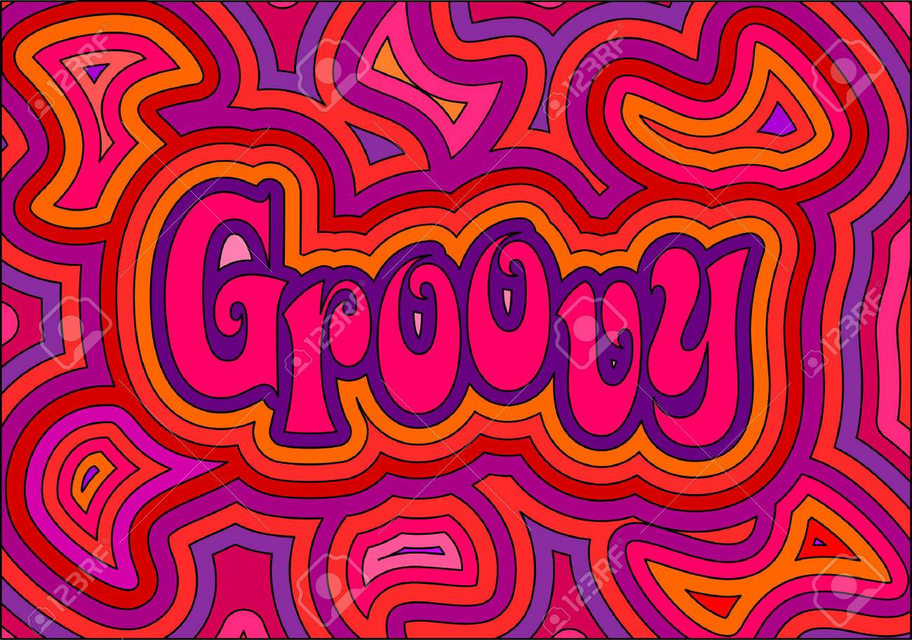 A Psychedelic Groovy Design! R...