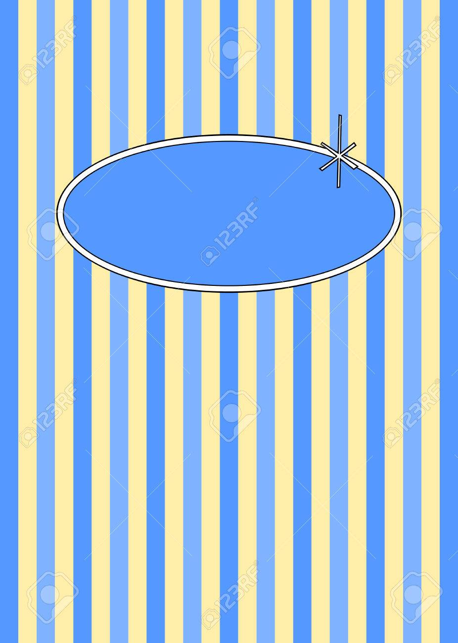 1950s retro candy stripes design with copyspace. Stock Vector - 5603985