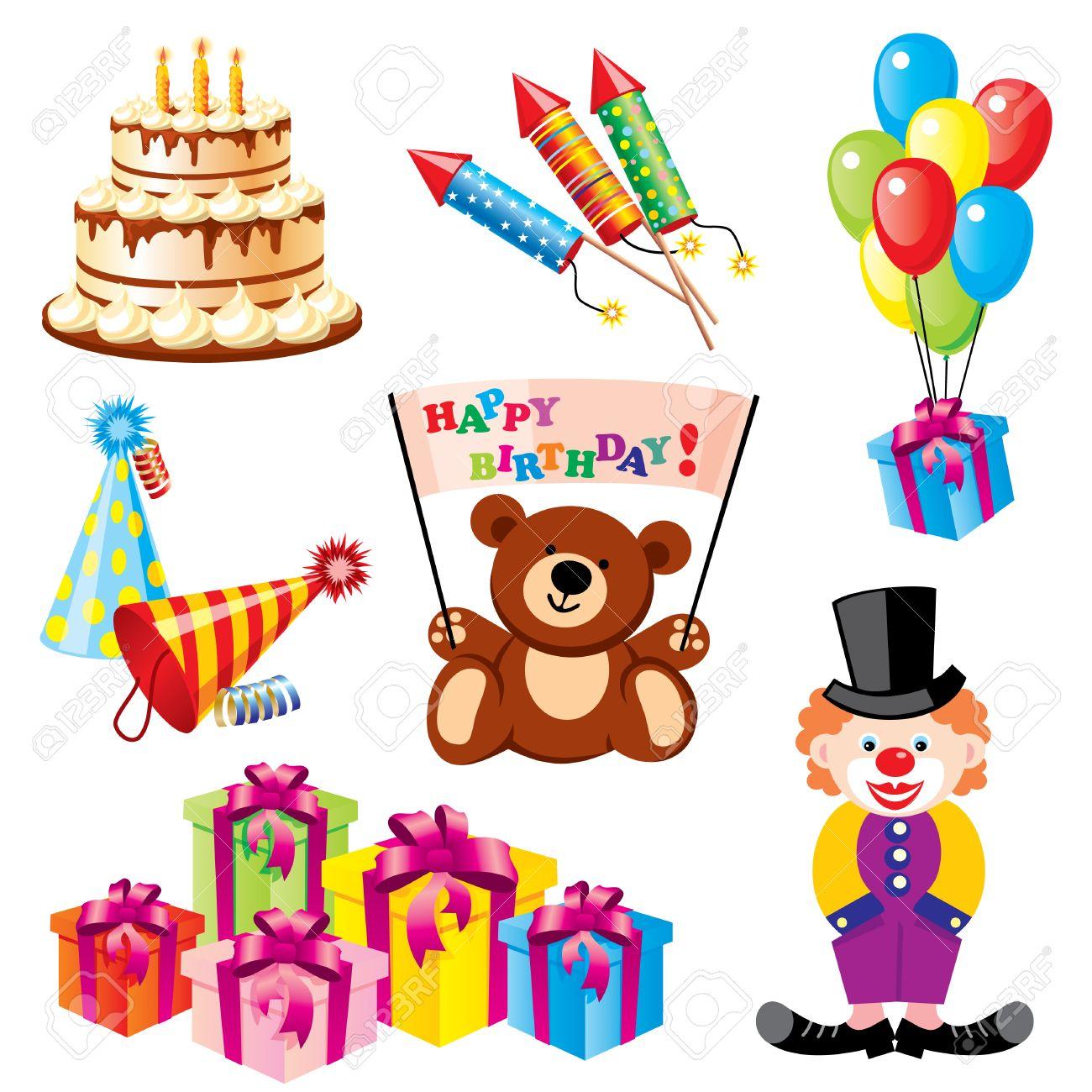 Поздравления с днём рождения с символами