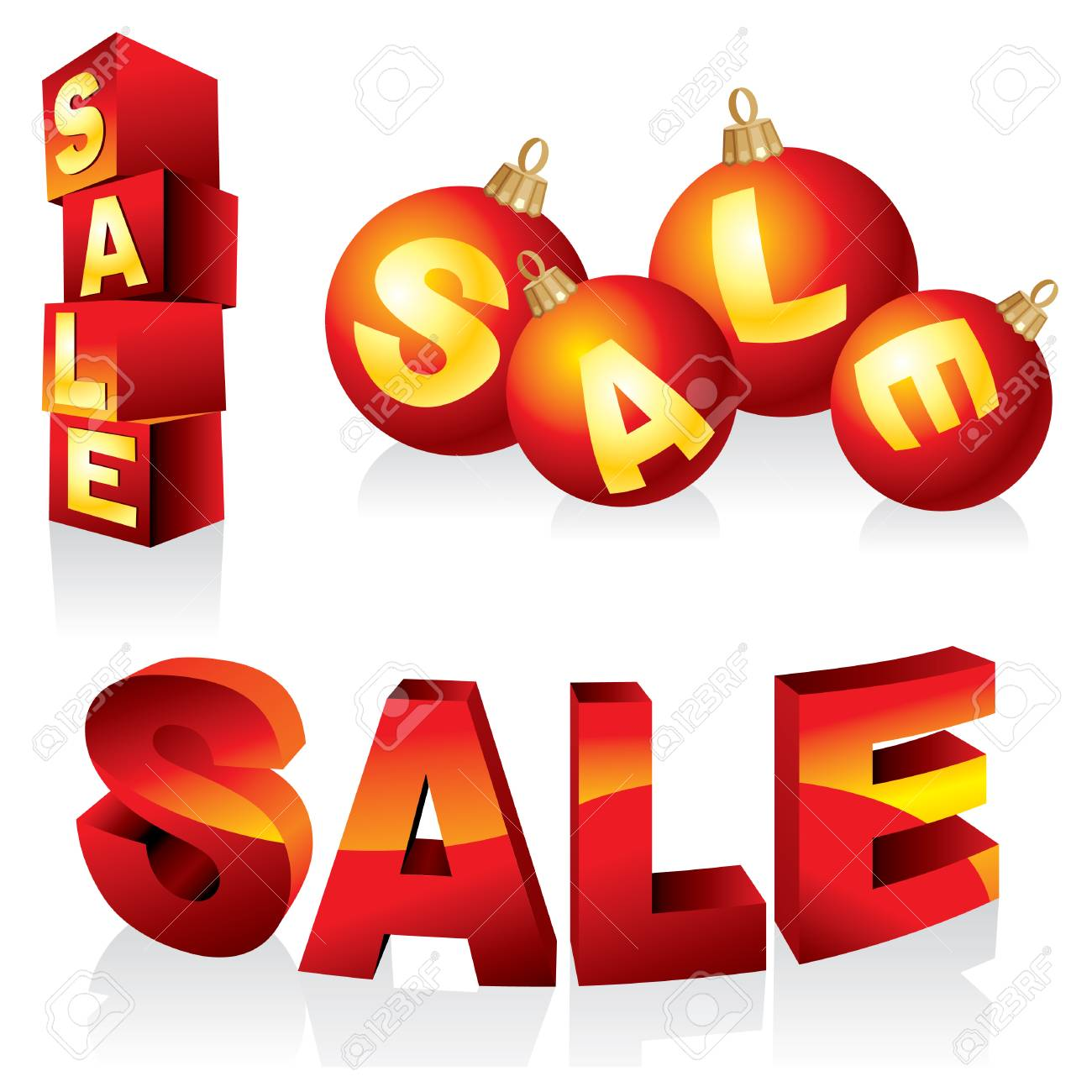 collection of vector images and design elements for the sale of goods Stock Vector - 8366787
