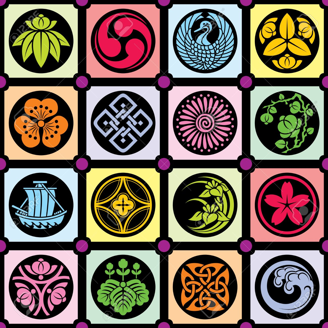 traditional japanese design royalty free cliparts, vectors, and