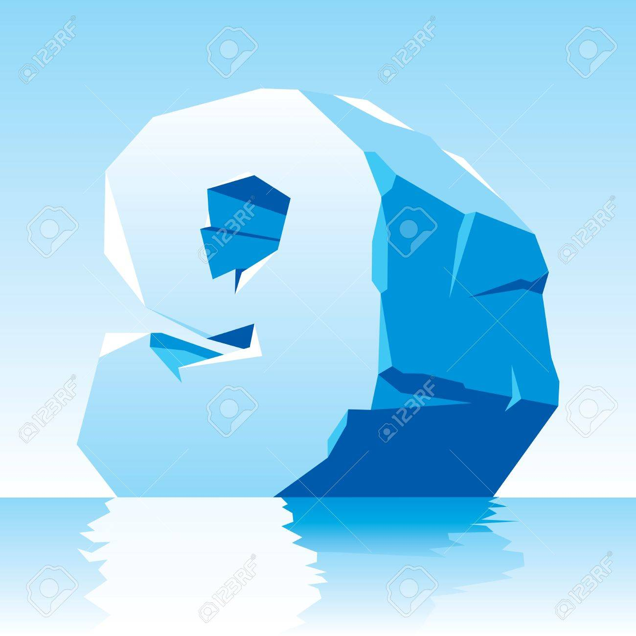 vector image of ice number 9 Stock Vector - 16589526