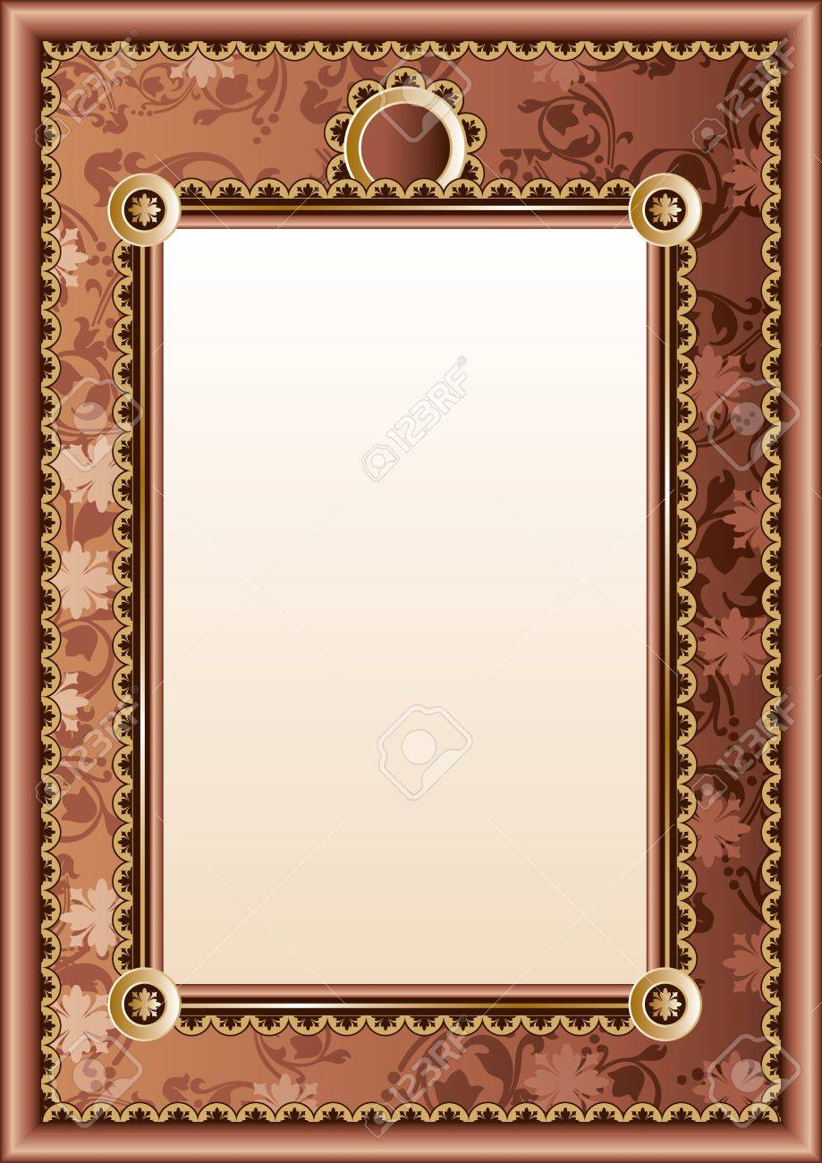 vector image of frame diploma or certificate Stock Vector - 19049447