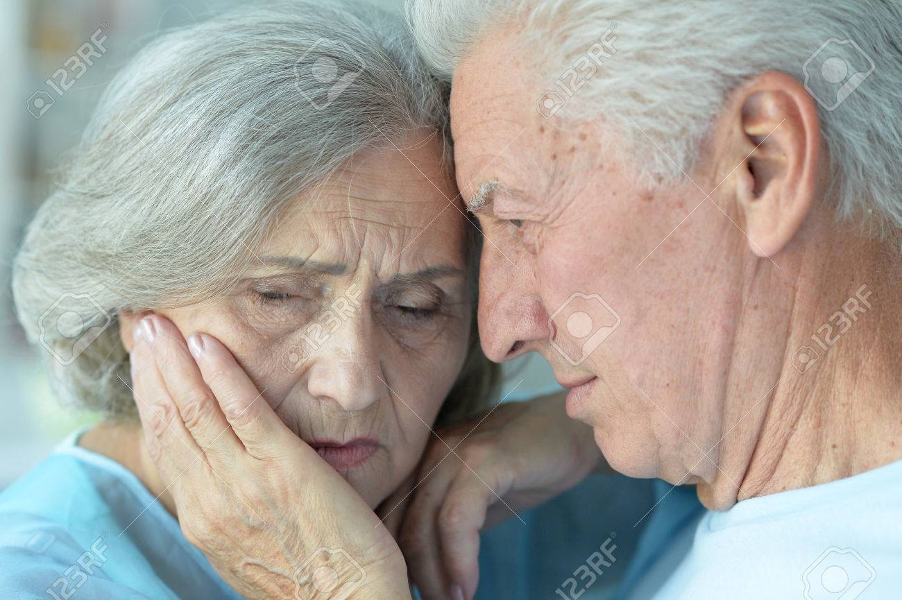 Image of: Alone Sad Beautiful Old People In The Room Stock Photo 64621258 123rfcom Sad Beautiful Old People In The Room Stock Photo Picture And