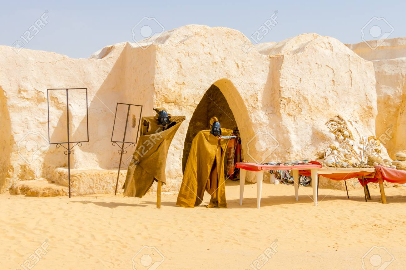 Old Star Wars Set In The Sahara Desert Near City Tozeur Tunisia Stock Photo Picture And Royalty Free Image Image 110935582