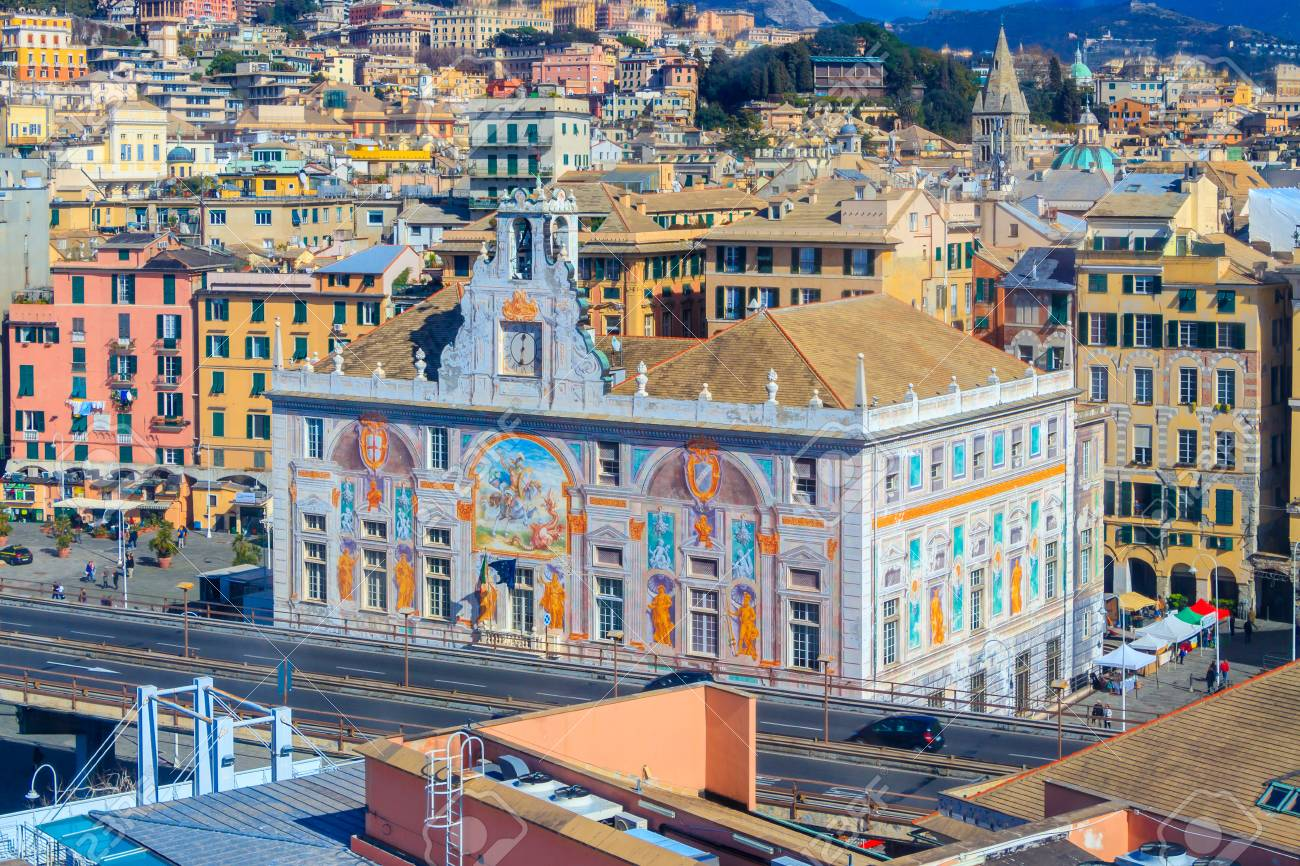 Palace Of Saint George In Genoa Italy Stock Photo Picture And Royalty Free Image Image 127081261