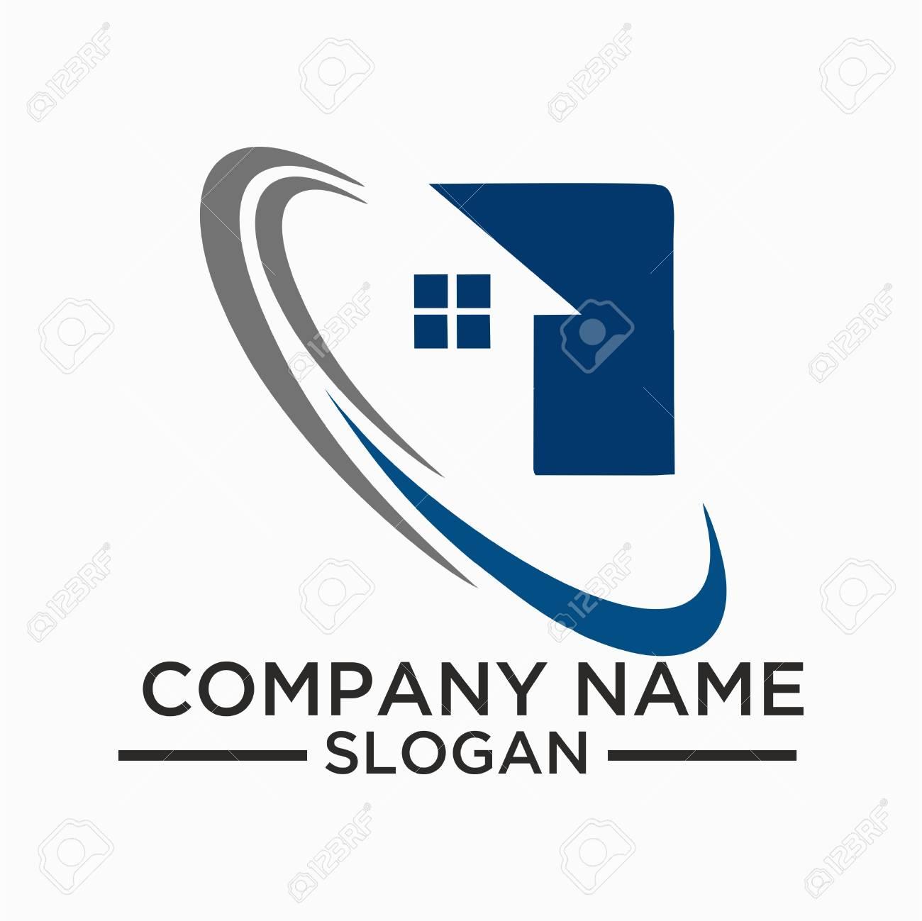building and construction logo vector design real estate logo