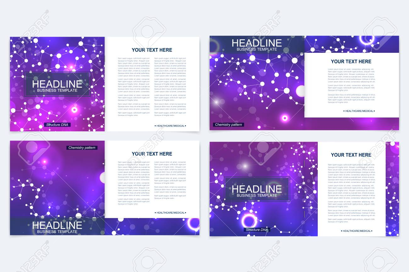 Vorlagen Für Quadratische Broschüre Merkblatt Deckblatt