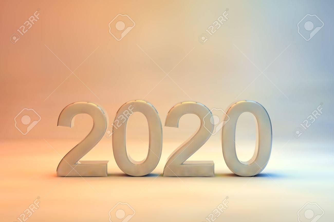 carte de voeux 2020 2020 Nouveau Design De Carte De Voeux Avec L'année De La Date En