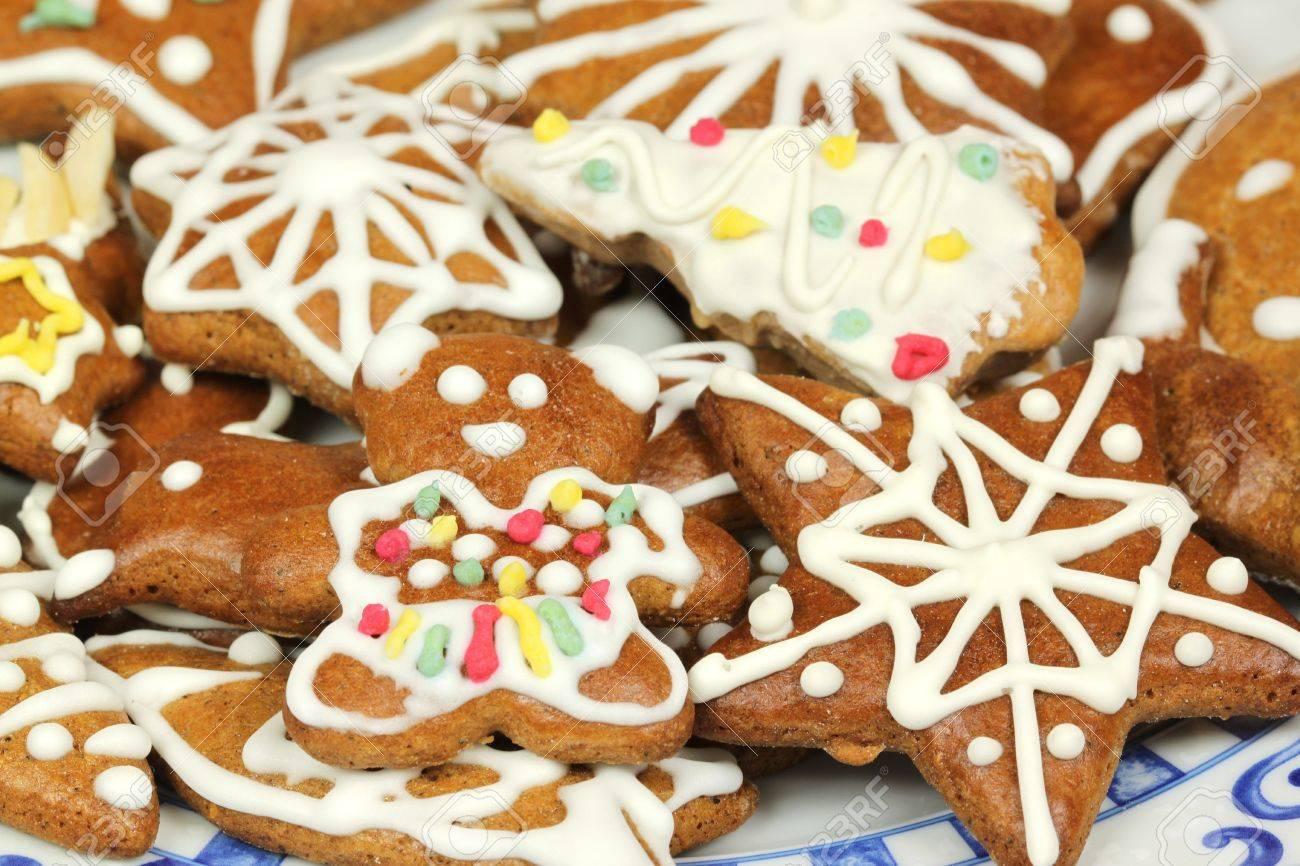 Polish Christmas Cookies.Traditional Christmas Gingerbread Cookies Polish Xmas Sweets