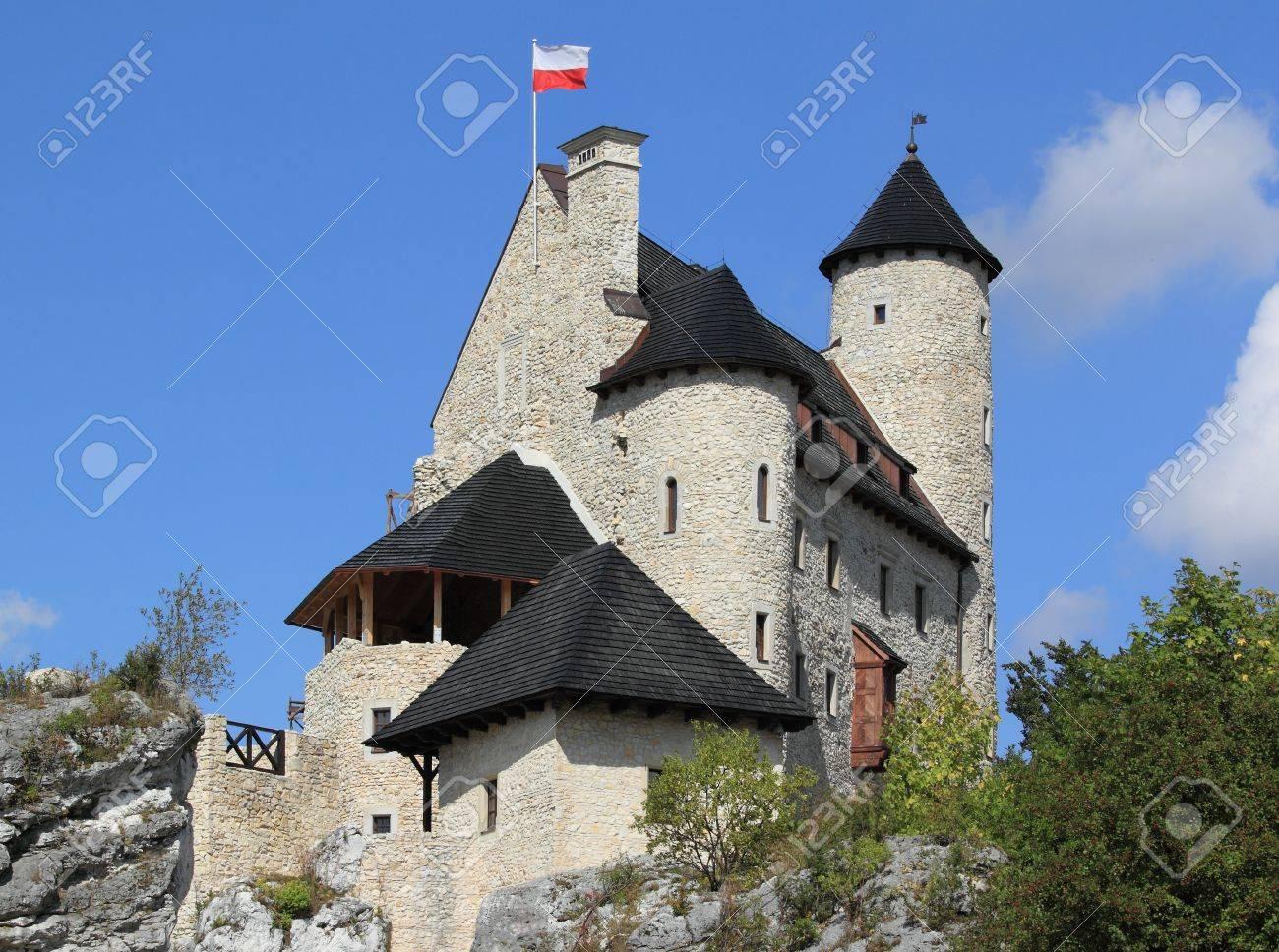 Bobolice castle - old fortress in Poland. Landmark in Europe. Stock Photo - 12943826