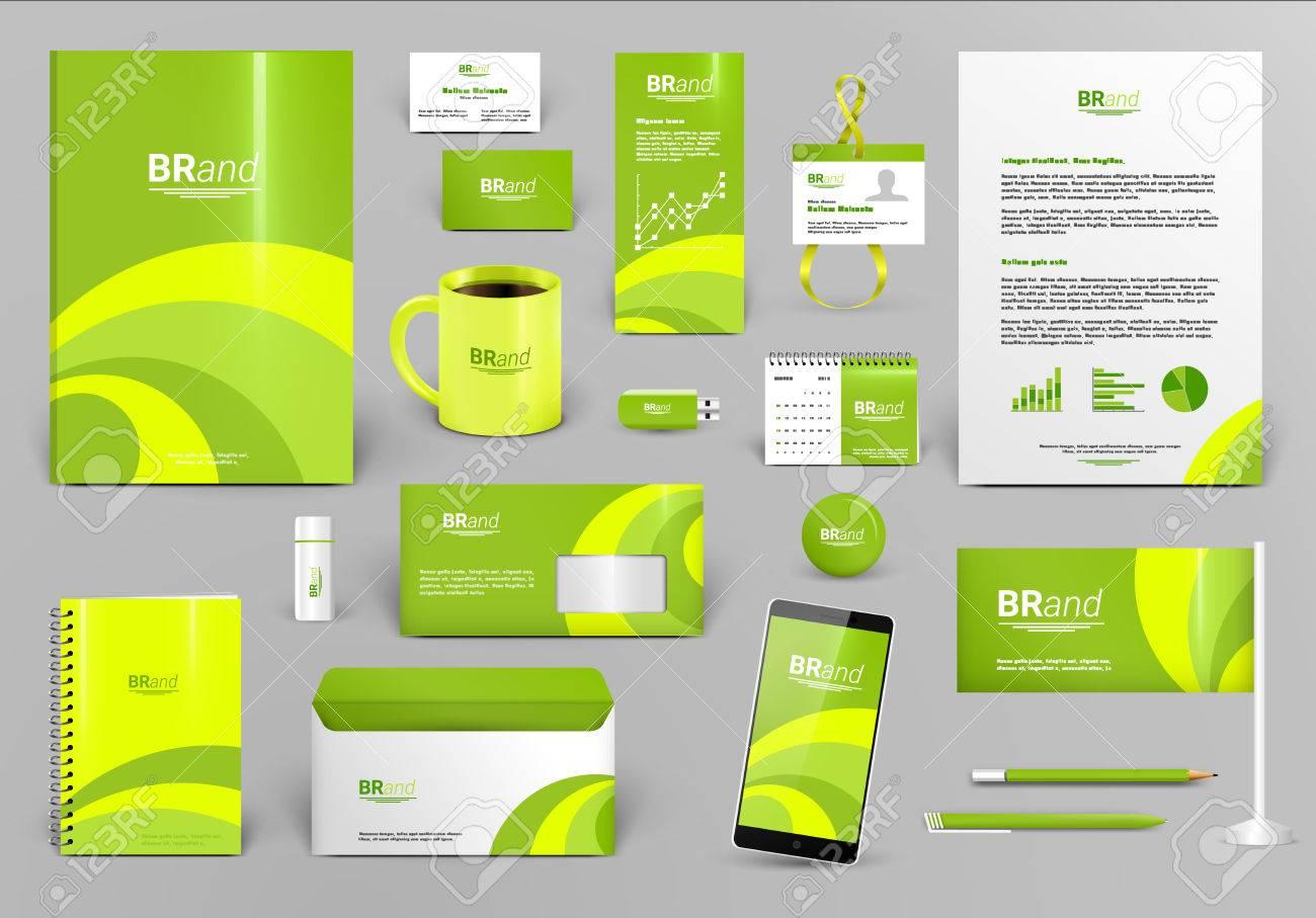 Lime Luxus-Branding-Design-Kit. Identität Vorlage Für Hotel, Shop ...