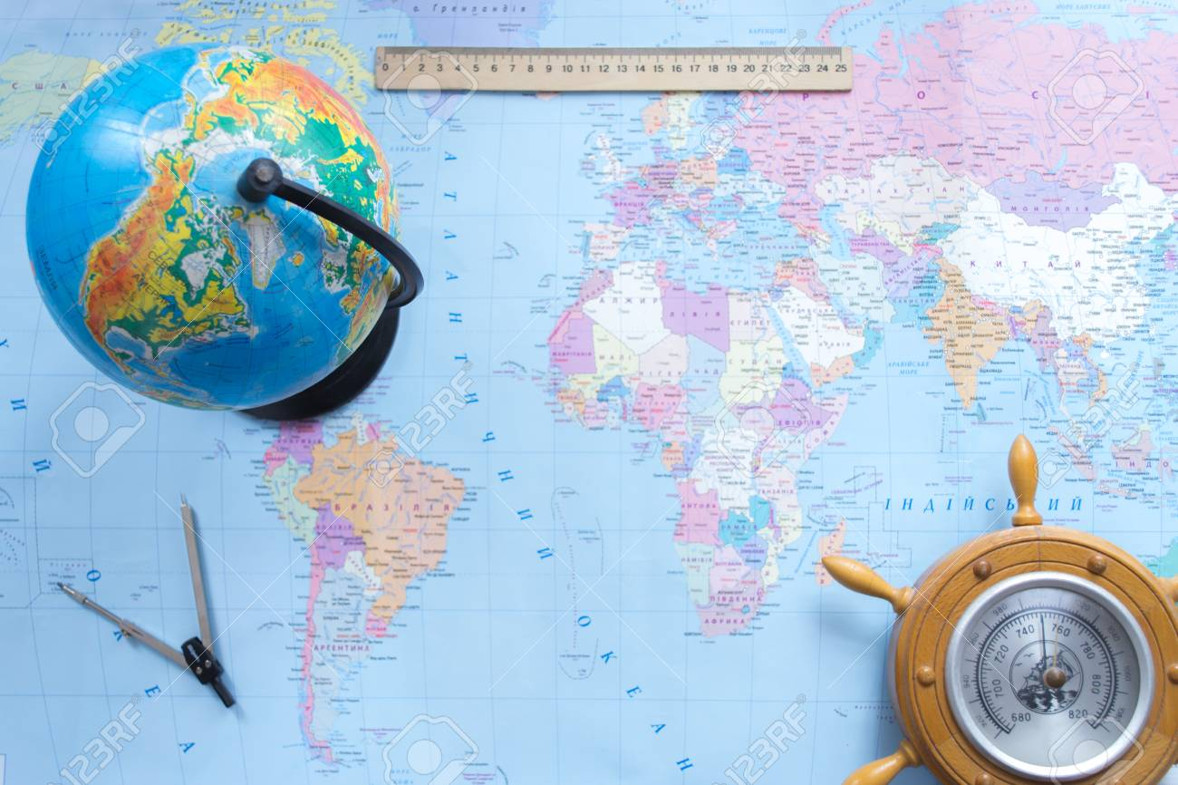 Globe political map of the world on a blurred background stock photo globe political map of the world on a blurred background stock photo 75004132 gumiabroncs Gallery