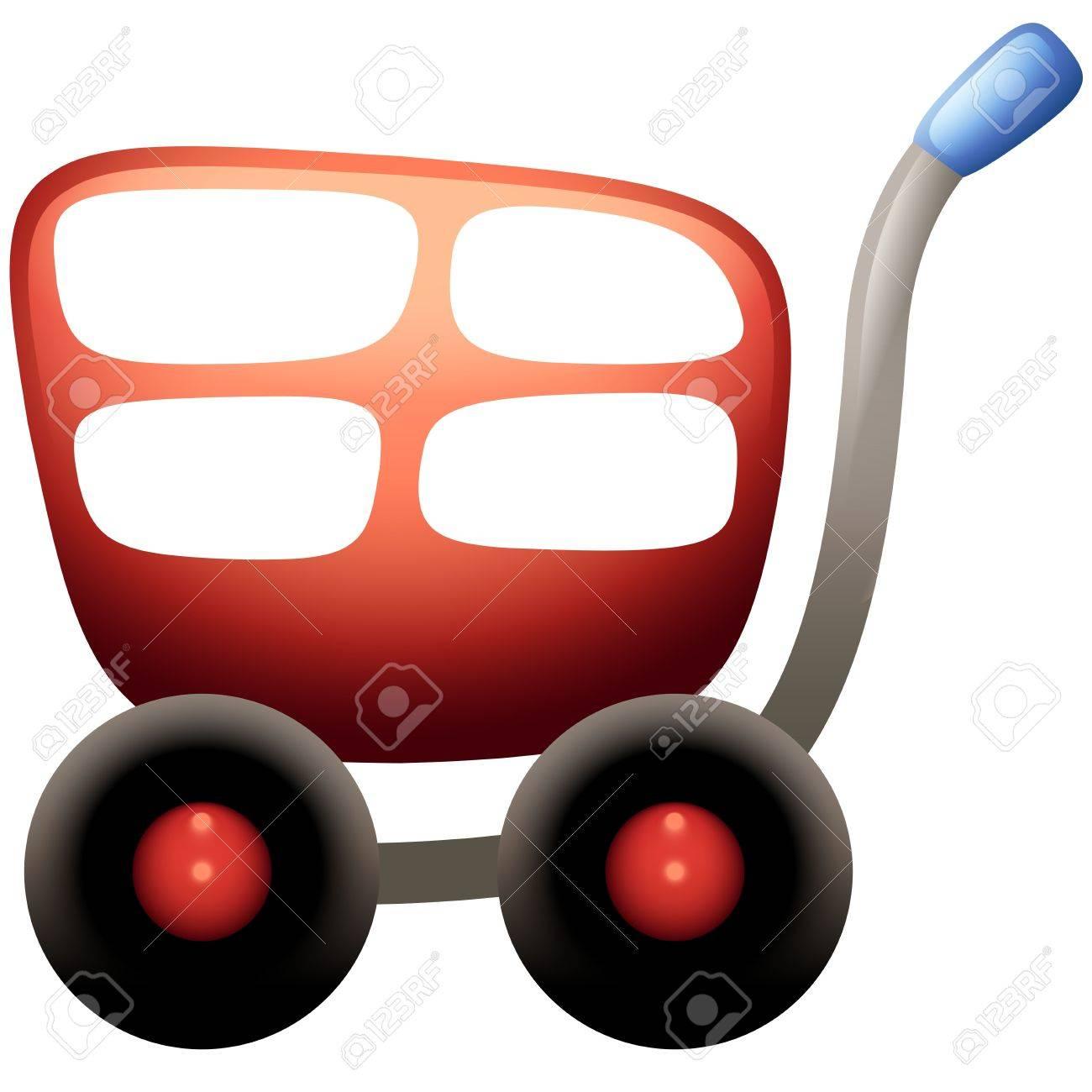 Shopping Cart Icon Stock Vector - 13933570