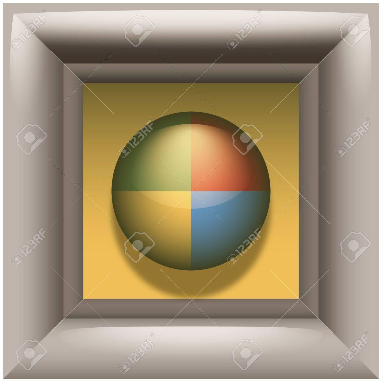 Gallery Icon Stock Vector - 13985998