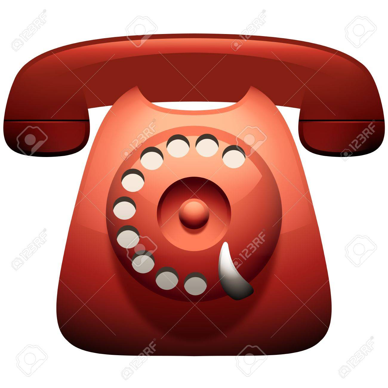 Vintage Telephone Icon Stock Vector - 14161815