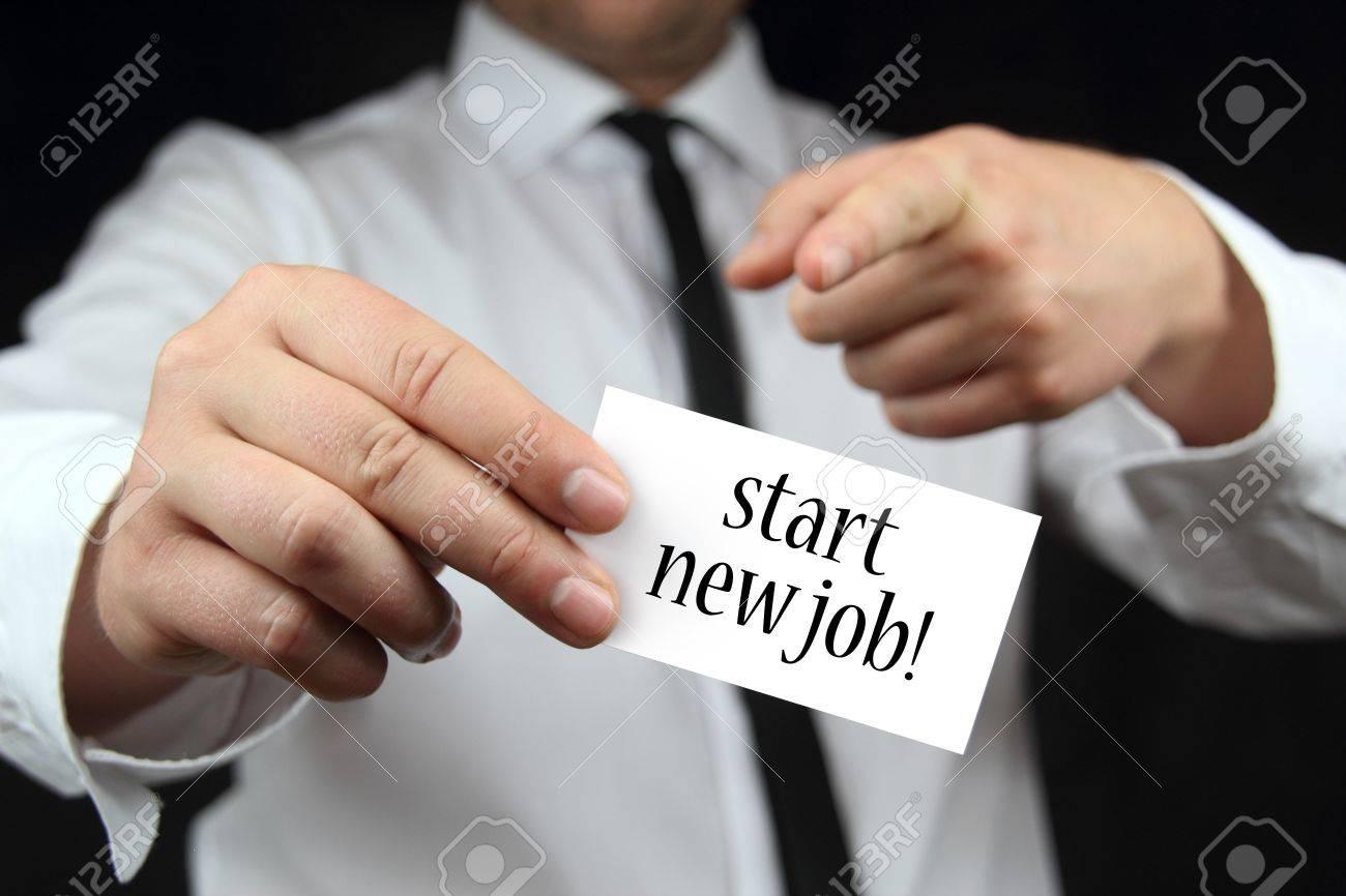 start new job business card stock photo picture and royalty stock photo start new job business card